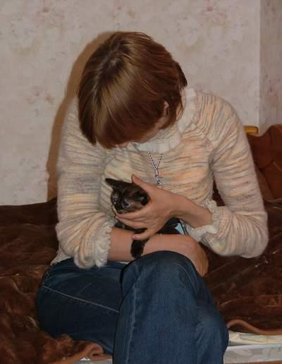 Кошке Меламори 2.5 месяца